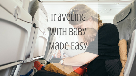 Tips on traveling with your baby. #Travel #Baby #Motherhood