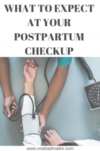 Wondering what you can expect at your 6 week postpartum appointment? Here's a quick run down on what you can expect. #postpartum #postpartumcare #pregnancy #whattoexpect